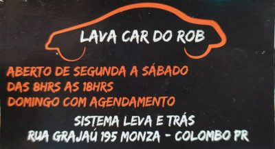 LAVA CAR DO ROB